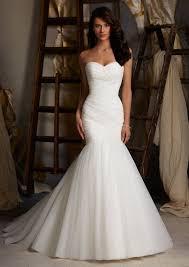 plain white wedding dresses forward