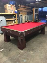 usa made pool tables 9 antique brunswick challenger pool table great condition made in