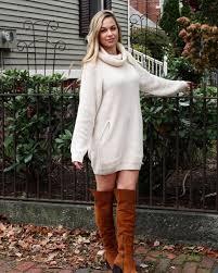 sweater dress diana turtleneck knit dress