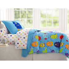 Elephant Twin Bedding Little Boys Funny Monsters Blue Bedding Twin Or Full Bed In A Bag