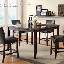 Counter Height Table And Chairs Set Dinning Kitchen Dining Sets Small Dining Table Set Round Dining