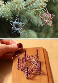 29 diy christmas decor ideas for the home wire ornaments diy
