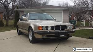 1992 bmw 7 series 1992 bmw 7 series 750il for sale in united states