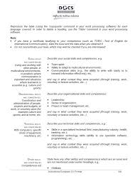 federal resume templates copy of a resume format federal resume template federal resume