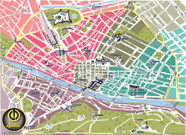 Florence Italy Map Front Page All In Florence