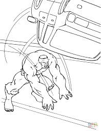 strong hulk coloring free printable coloring pages