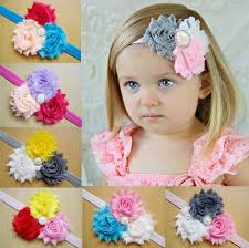 bando headbands elastic lace flower headbands baby flower headband