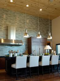 Glass Backsplash Tile For Kitchen Glass Backsplash Ideas Pictures U0026 Tips From Hgtv Hgtv