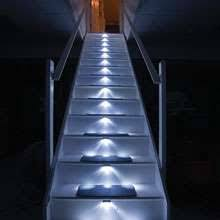 led staircases stair lights home system illuminates every step