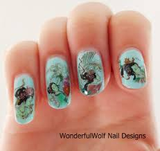 japanese nail art u2013 wonderfulwolf