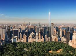 new rendering of extell s central park tower shows sparkling all