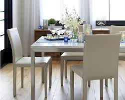 Crate And Barrel Dining Room Tables Modern Design Stainless Steel Dining Table Top Smart Inspiration
