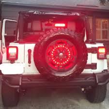 3rd brake light led ring 3rd spare tire brake light led ring for 97 17 jeep wrangler jk tj ebay