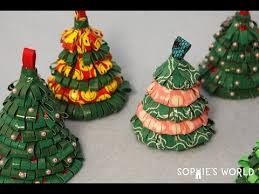 how to make duct tree ornaments s world