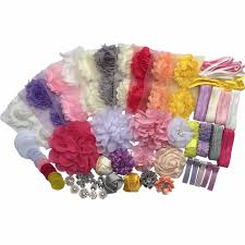 hair bow maker diy child headbands kit make 32 headbands and 5 hair bow