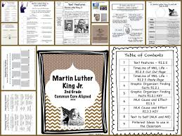 Dr Martin Luther King Jr Literacy Unit for MLK Day