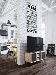 Wall Interior Design Best 25 White Brick Walls Ideas Only On Pinterest White Bricks
