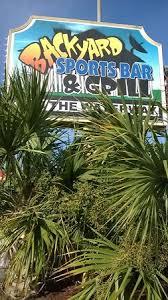 Backyard Sports Bar by Backyard Sports Bar And Grill Myrtle Beach Restaurant Reviews