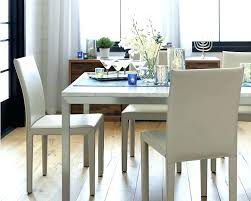 Crate And Barrel Dining Room Sets Crate Barrel Coffee Table Parsons Dining Room Table View In