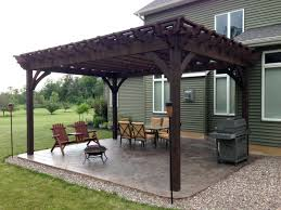20 five star arbors pergolas gazebos full wrap roof western