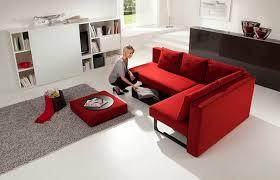 piccolo divano letto divano letto d angolo moderno in tessuto by v