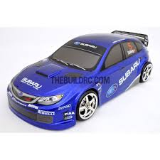 subaru wrx spoiler the build rc 1 10 subaru impreza wrx 185mm pc finished rc car body