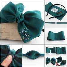ribbon hair bands diy beautiful satin ribbon bow hair clip
