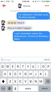 a guy joined tinder as a glass of red wine and had the most