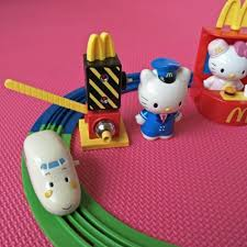 2003 mcdonald u0027s happy meal toys kitty shinkansen