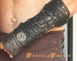 medieval gladiator dark spartacus forearm assassin armor