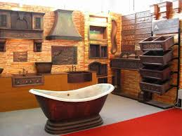 Rustic Bathroom Ideas Pictures Gorgeous 30 Orange And Brown Bathroom Decor Decorating Design Of