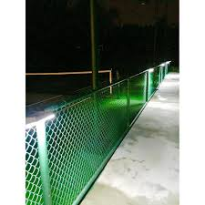 solar lights for chain link fence solar wall light mid nite lighting