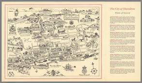 Louisiana Parish Map With Cities by City Of Hamilton And Pembroke Parish David Rumsey Historical
