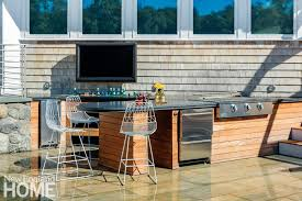 Outdoor Entertainment - chill zone outdoor entertaining space new england home magazine