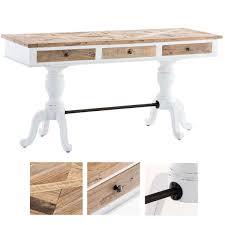 Details Zu Schreibtisch Winkelschreibtisch Computertisch Schreibtische Im Landhaus Stil Aus Holz Fürs Wohnzimmer Ebay