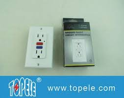 gfci receptacle with indicator light 125v ter resistant commercial duplex gfci receptacles with led