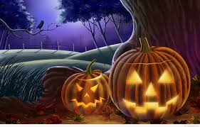 pumpkin happy halloween quote image