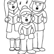 100 ideas christmas carol coloring pages free