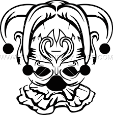 black and white mardi gras masks mardi gras jester mask production ready artwork for t shirt printing