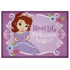 disney jr sofia princess area rug size 3 5 ft