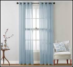 Blue Sheer Curtain Light Blue Sheer Curtain Panels 1 Window Treatments