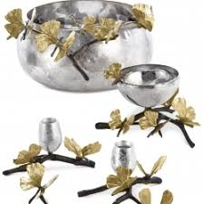 michael aram collection of gift and serveware
