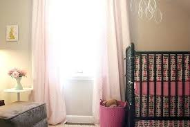 Light Pink Curtains Pink Curtains For Nursery Teawing Co