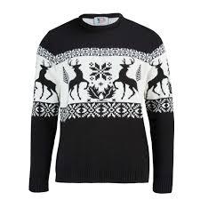 stag fairisle mens christmas jumper british christmas jumpers