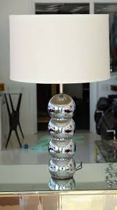 Stand Of Table Lamp Vintage Stacked Chrome Ball Table Lamp For Sale At 1stdibs