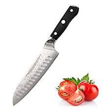 amazon com santoku knife 7 inch japanese vg 10 67 layers damascus
