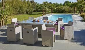 canape de jardin en resine tressee pas cher salon de jardin tresse gris pas cher vente table de jardin djunails