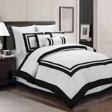 Black Comforter King White Comforter With Black Trim Home Website Fraufleur Best 25
