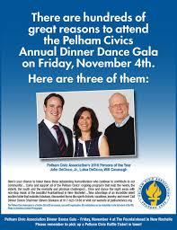 pelham civics dinner gala nov 4 honoring john luisa decicco