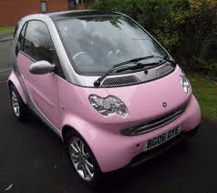 smart car coupe fortwo pink passion limited edition in